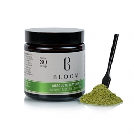 Bloom Absolute Matcha Grüner Tee Puder 30 g - 1