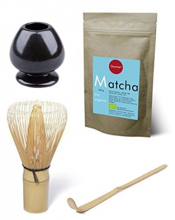 100 g matcha set bio matcha tee pulver blue style im zip beutel zum trinken plus matcha. Black Bedroom Furniture Sets. Home Design Ideas