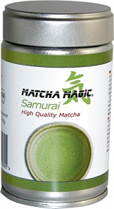 MatchaMagic BIO SAMURAI High Quality Dose, 1er Pack (1 x 80 g) - 1